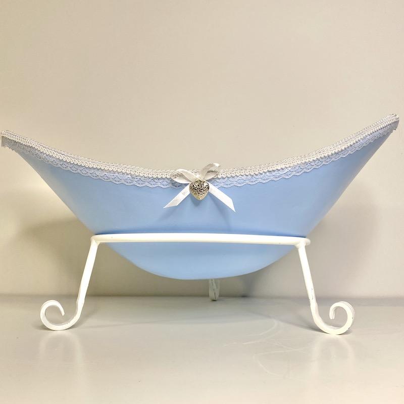 Babybauchschale hellblau Junge