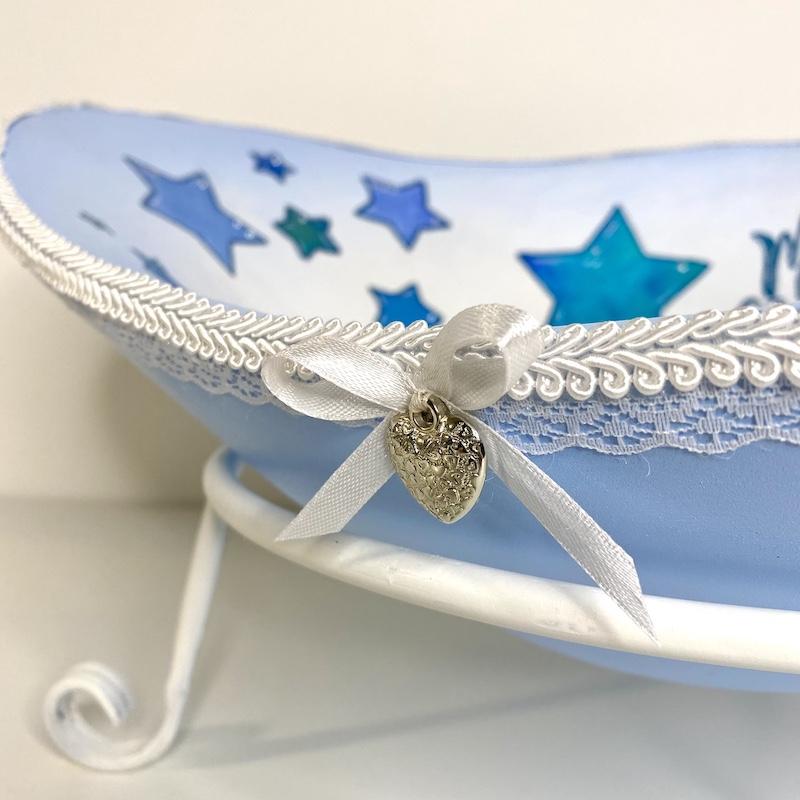 Babybauchschale himmelblau